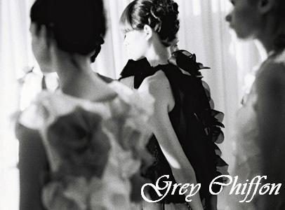 Grey Chiffon
