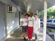 Dr. Angela, Sr. Raimundo e Reem