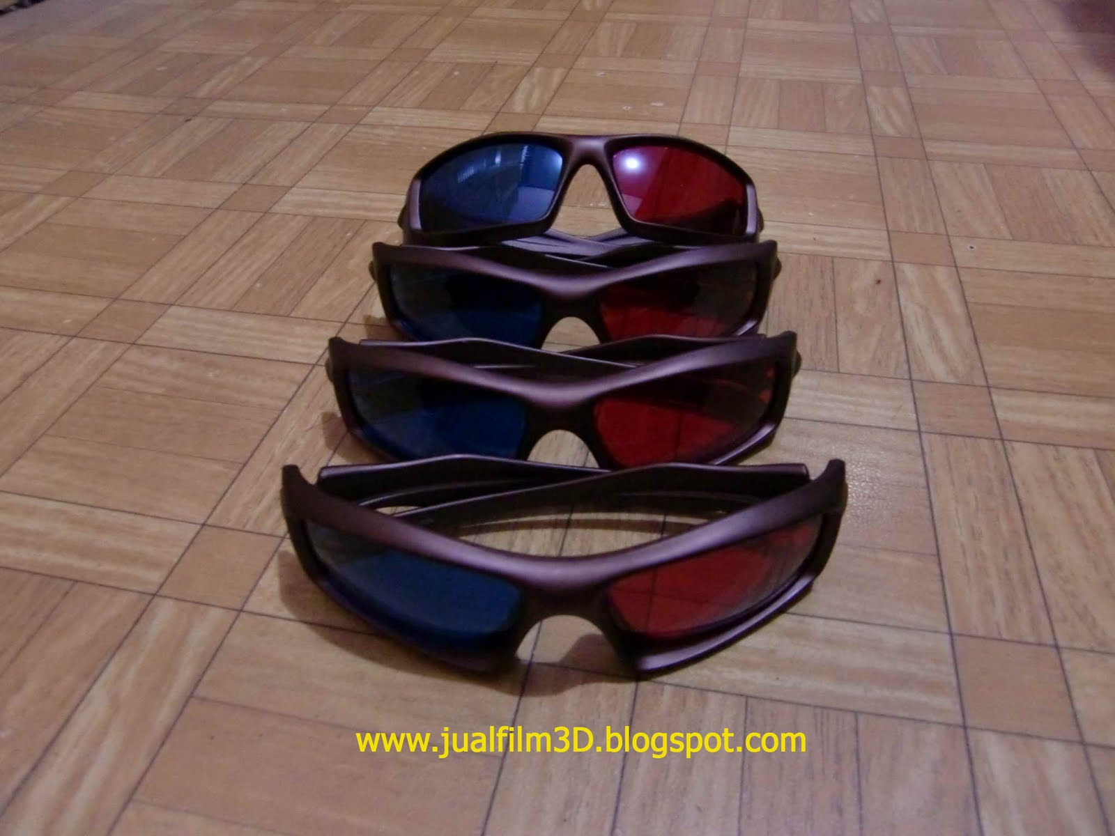 Kacamata 3D Plastik KW1 super (SOLD OUT)