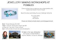 Jewellery Making Workshops at Pebbles