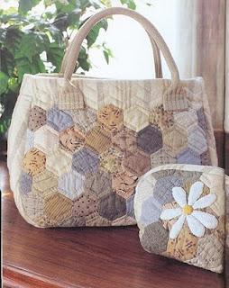 Mis manualidades bolsos en patchwork - Manualidades patchwork bolsos ...