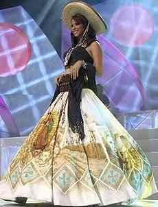 Miss Mexico: Rosa Maria Ojeda (2007)