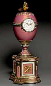 Workmaster Mikhail Perchin - Rothschild Fabergé Egg (1902)