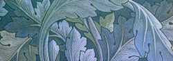William Morris - Blue Acanthus