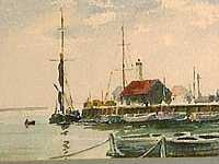 Peter Cushing OBE - Whitstable Harbour
