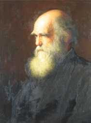 Walter William Ouless - Portrait of Charles Darwin (1875)