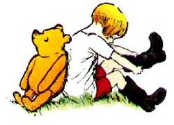 E.H. Shepard - Pooh and Christopher Robin