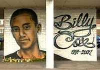 Anonymous Graffiti Artist - Billy Cox Mural (2007)
