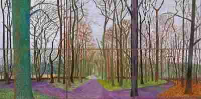 David Hockney - East Yorkshire Landscape