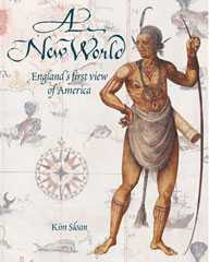Exhibition Catalogue Cover showing John White's watercolour An Indian Chief (c.1585)
