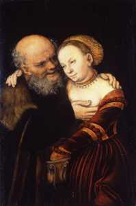 Lucas Cranach the Elder - The Ill-Matched Lovers