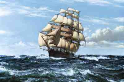 Cutty Sark (unknown artist)