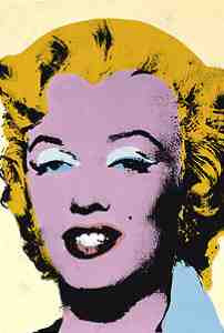 Andy Warhol - Lemon Marilyn (1960's)