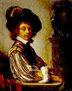 Frans van Mieris - Self Portrait: A Cavalier (1657-59)