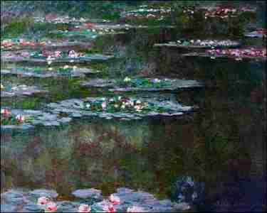 Claude Monet - Nympheas (1904)