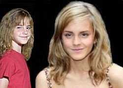 Emma Watson at 10 and 17 (I.C. combined images, 2007)