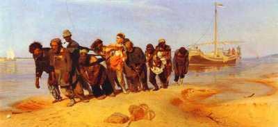 Ilya Repin - Barge Haulers on the Volga (1873)