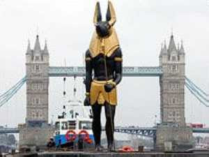 Statue of Anubis, God of the Dead
