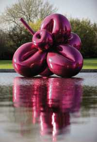 Jeff Koons - Balloon Flower (Magenta) 1995-1999 © Christie's Images Ltd