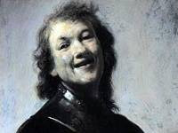 Rembrandt - Rembrandt Laughing (ca 1628)
