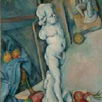 Paul Cézanne - Still Life With Plaster Cast (1894) © The Samuel Courtauld Trust