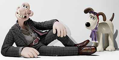 Aardman Animations - Wallace and Gromit in Harvey Nichols advertisement (2008)