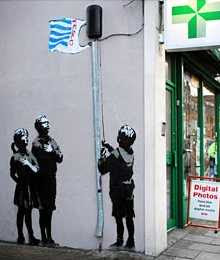 Banksy - Essex Road (2008)