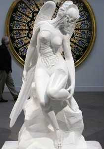 Damien Hirst - Anatomy of an Angel (2008)
