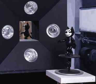 Mark Leckey - Detail of production still from Felix Gets Broadcasted (2007)