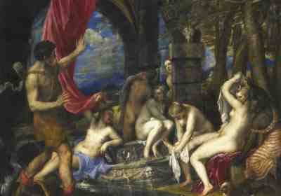Titian - Diana and Actaeon (1556-59)