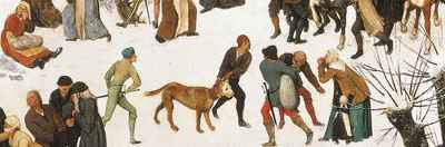 Pieter Bruegel the Elder - Massacre of the Innocents (1565-7) detail; Photo: The Royal Collection © 2008, Her Majesty Queen Elizabeth II