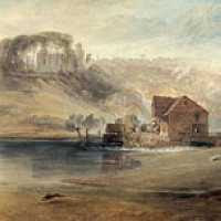 JMW Turner - Crook of Lune, looking toward Hornby Castle (1816-18) © the Samuel Courtauld Trust, The Courtauld Gallery, London