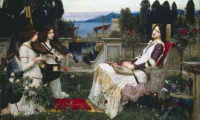 John William Waterhouse - Saint Cecilia (1895)