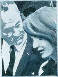 Gerhard Richter - President Johnson amd Mrs Kennedy (1963)