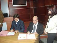 El embajador con el Fiscal General