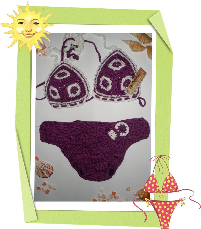El arte de reciclar trajes de ba o tejidos a crochet - Arte en bano ...