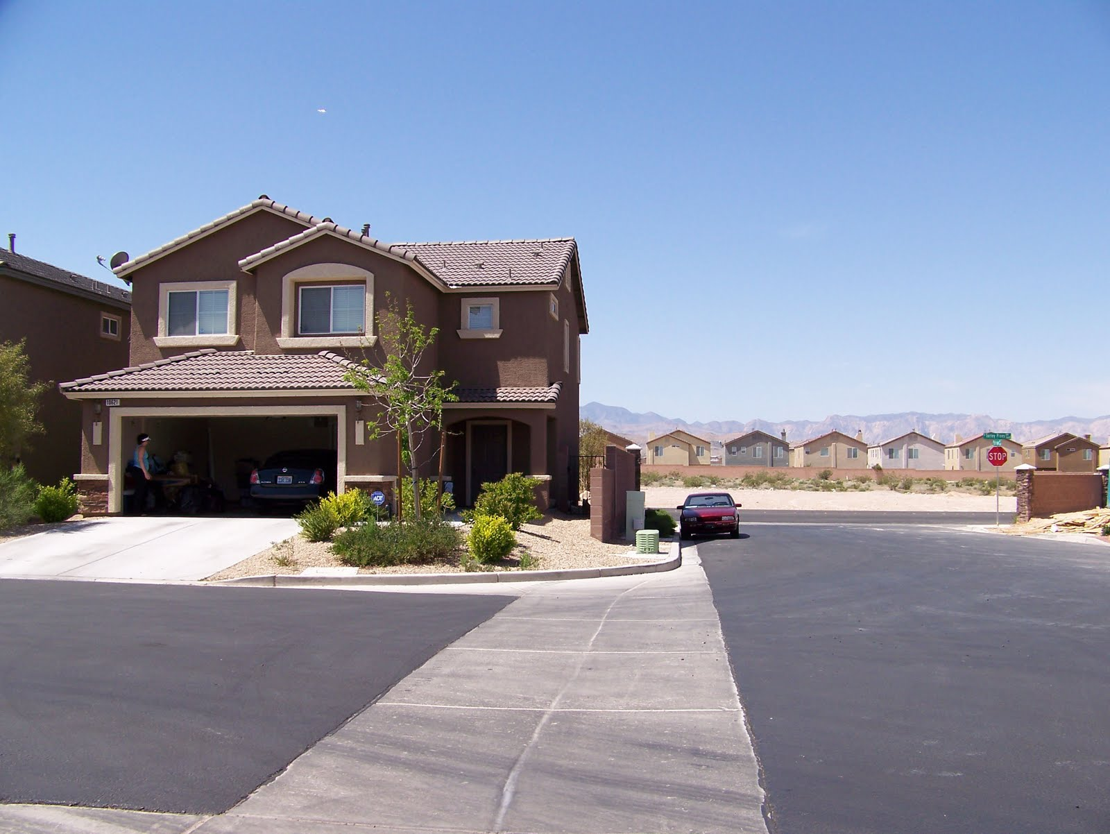 A Couple Of Weeks Ago I Traveled To Las Vegas To Visit My Daughter. She Had  Bought A Beautiful Home In Las Vegas That Had A Very Nice Yard Already.