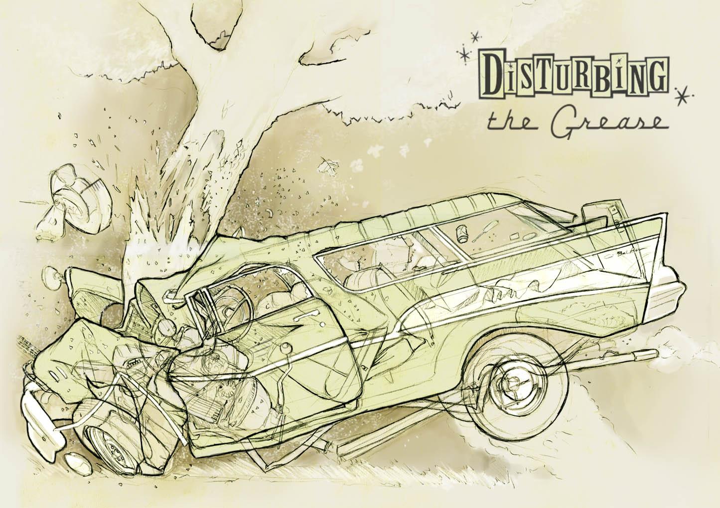 Car Crash Drawing - annesutu