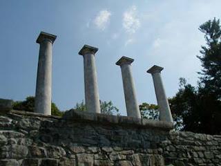 low angle columns