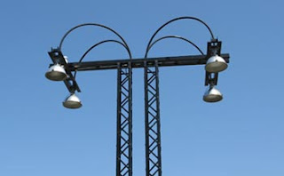 parking lot lamps