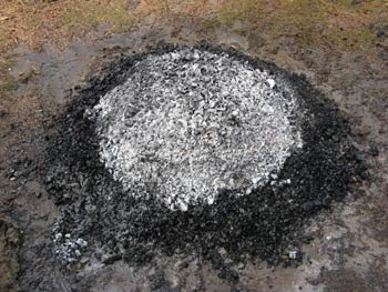 charcoal pile 1