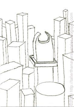 skyline sketch 1
