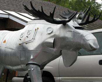 Cylon moose MS head
