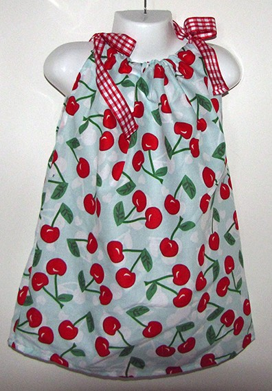 Cherry Dress size 1-4 years  $15.00