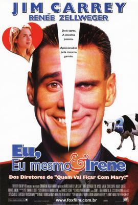 Filme Poster Eu, Eu Mesmo e Irene DVDrip RMVB Dublado