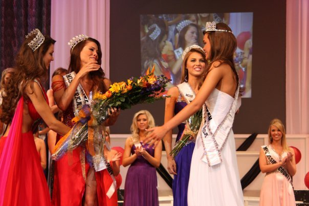 ... called as the new Miss Arkansas Teen USA... and just in case you can't, ...