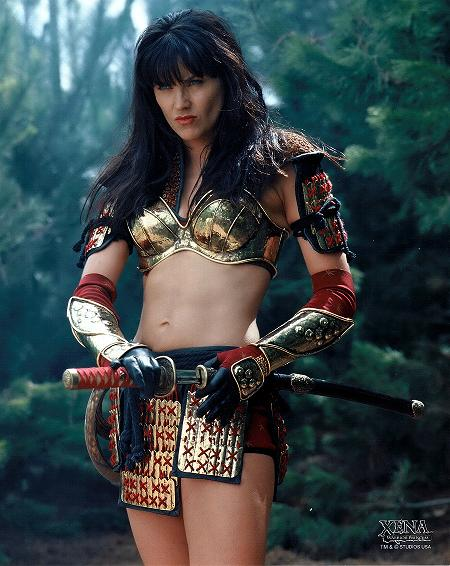 Women Wearing Revealing Warrior Outfits - Page 9 Xena