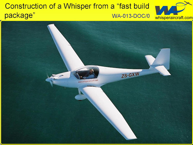 Building a Whisper Motorglider WA-013-DOC/0