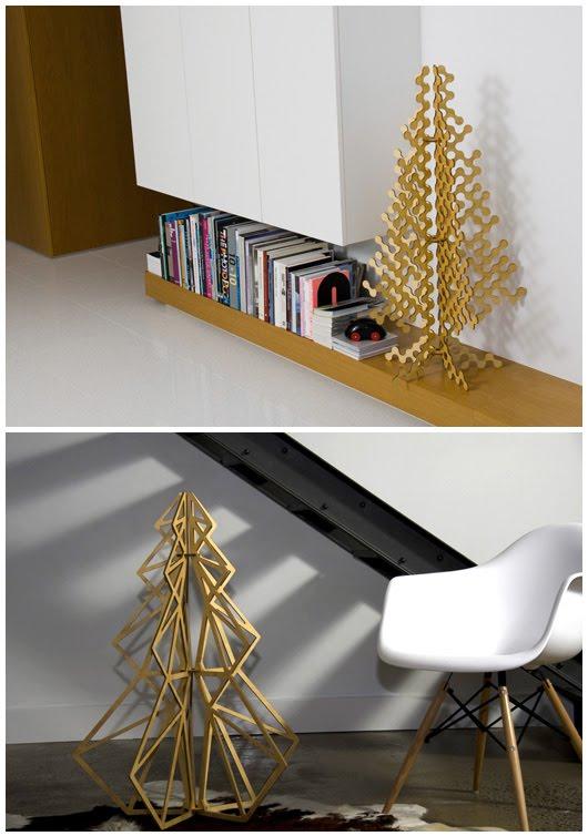 the design files buro north christmas trees. Black Bedroom Furniture Sets. Home Design Ideas