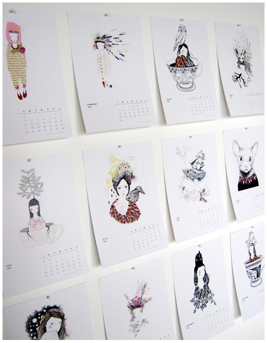April Calendar Picture Ideas : The design files interview catherine campbell